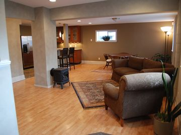Sandpoint condo rental - Living room view