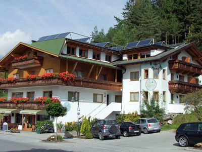Holiday house with 7 apartments in Tirolean style.