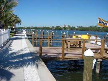 Fishing Pier with available boat slips