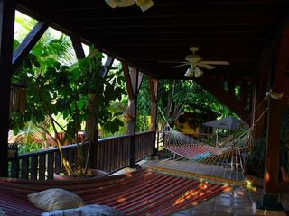 Culebra villa photo - Oceanfront Ground Level Hammock Terraces..