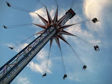 Tallest Swing in Texas at the Pleasure Pier