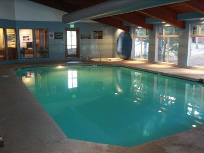 Indoor Swimming Pool and Hot Tub Area