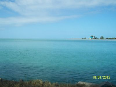 Englewood condo rental - View from causeway Boca Grande (a must!)