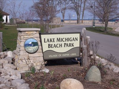 Lake Michigan Beach park..picnics, swimming, hiking the beach