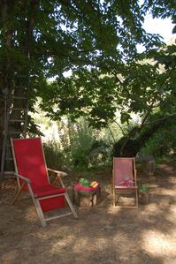Cefalu cottage rental - Tea in the wood