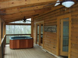 Wears Valley cabin photo - Hot Tub for Privacy