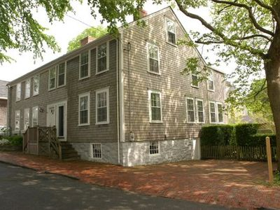 Nantucket Town house rental - 48 Fair Street, built as a double house in 1797 by shipwright Benjamin Austin Jr