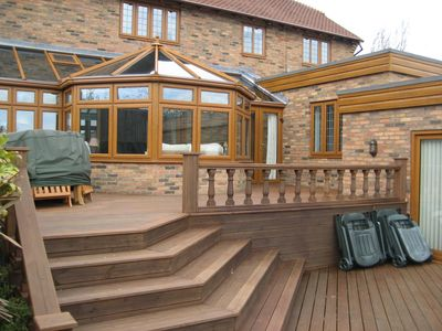 rear decking area