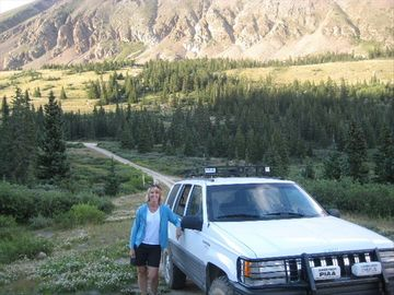 4x4 the famous Mosquito Gulch Trail to Leadville