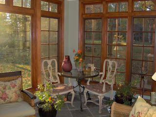 Saugatuck / Douglas cottage photo - Sun Porch in the Morning