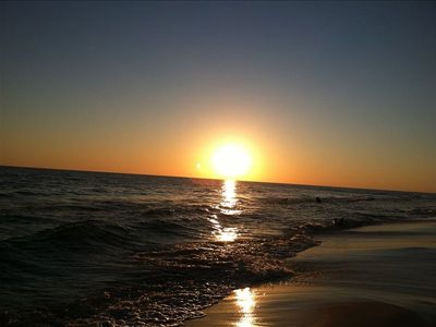 Sunset on Seagrove Beach, Florida -100 Yards From Our Vacation Home!