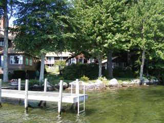 Alton cottage photo - Dock in front of #4 and #5.