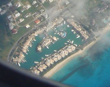 Aerial viiew of Port St Charles