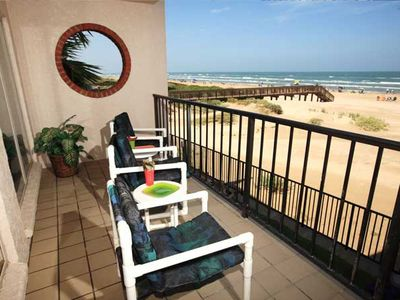 South Padre Island condo rental - .Great view of beach and fun from your balcony