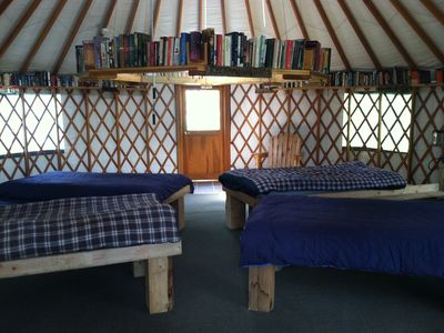 Secluded Champagne Yurts
