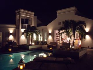 Providenciales - Provo house photo - Night lights.