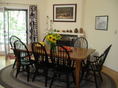 Dining Room in Summer