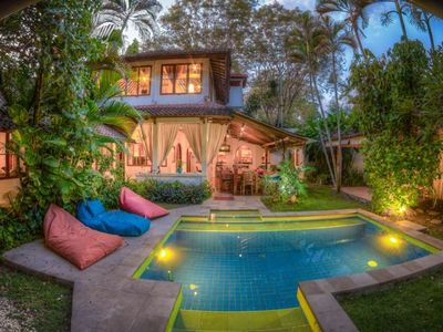 Charming 5 Bedroom/4 Bath, Beautiful Pool ,Steps from the Beach,In Seminyak.