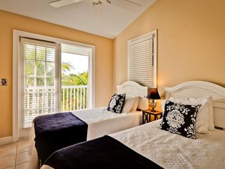Key West house photo - The second bedroom has French doors to the front porch.