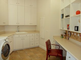 Lakeway estate photo - Laundry and Office