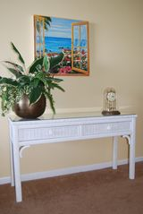 Redington Shores condo photo - The entry table has menus from our local favorites as well as activity flyers!