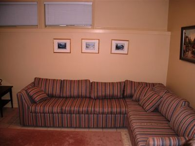 Lower level pull out sofa