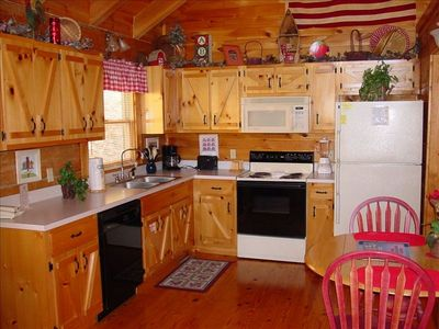 Delightful country kitchen