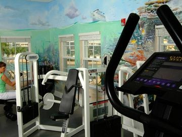 Fitness center located at main club house. minutes away