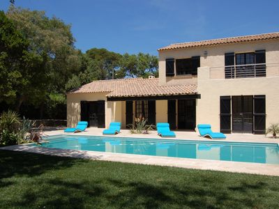 Saint-Aygulf villa rental - Pool and terrace