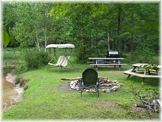 Gladwin house photo - Fire pit area