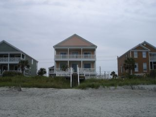 Oceanfront 8br 7ba House Large Private Homeaway Garden City Beach