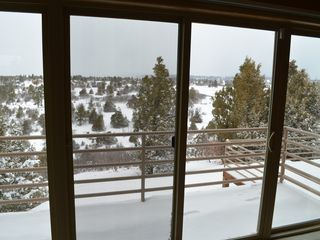 Pagosa Springs house photo - View from master during winter.