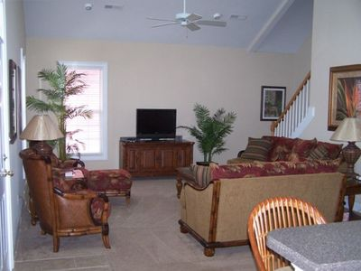 Main Den - beautifully decorated with fantastic, comfortable furniture.