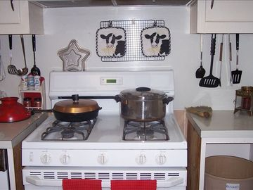Kitchen range area
