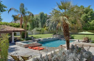 Palm Springs estate rental - Backyard oasis!