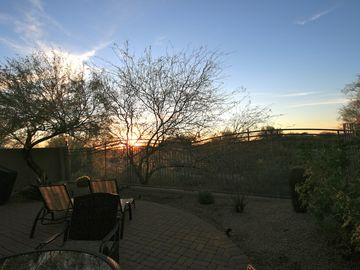Other Scottsdale Properties townhome rental - Enjoy your days and evenings on the private west-facing patio...