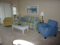 Newly Furnished 2BR 2BA + Den End Unit Carriage House on Water