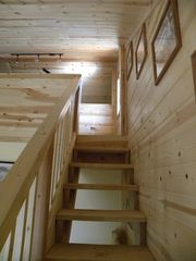 Grand Canyon cabin photo - Loft stairway