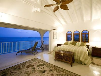 Even the bedrooms have fantastic ocean views!