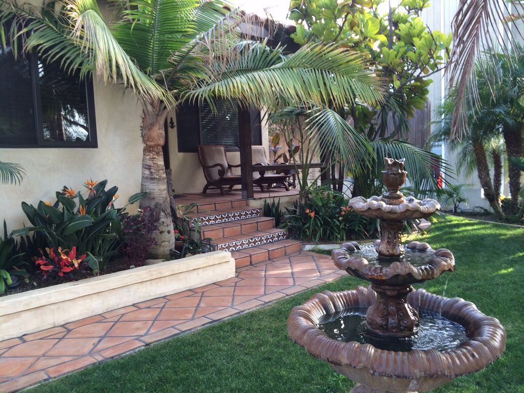 Spanish Style Beach House With Tropical Vrbo