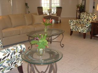 Great room looking from lanai - Siesta Key house vacation rental photo