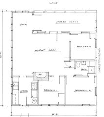Sebago Lake Basin cabin photo - Floorplan