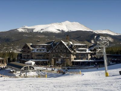 Ski Side Corner Unit, Crystal Peak Lodge 2BR/2BA,Monthly Summer Rental