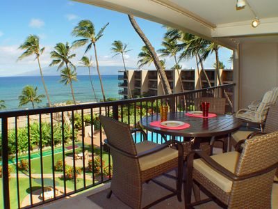 Gorgeous views from your huge private lanai!