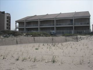 South Padre Island house photo - View from beach side