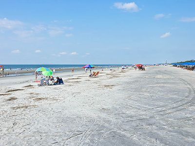 The famous Sea Pines beach--- less than 5 minutes walk from 12 Wren