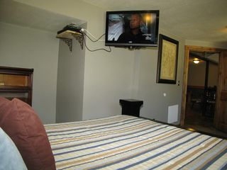 Brighton cabin photo - Of course you get an HD flat screen in your room with all of the movie channels!