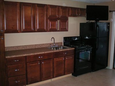 Garden City Beach condo rental - 204-B brand new appliances, full kitchen, brand new tile floor