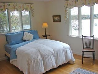 Orleans house photo - Sun-filled main floor Master bedroom with expansive water views