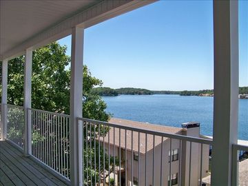 Hot Springs condo rental - Balcony View of Lake Hamilton